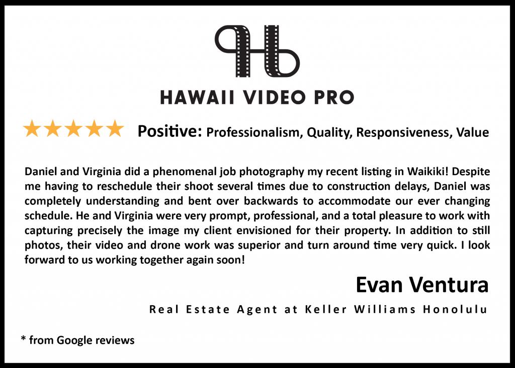 real estate review evan